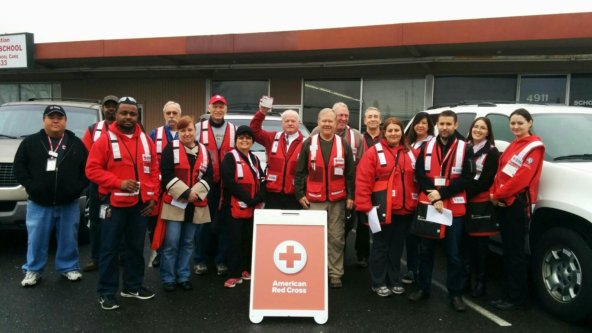 "Red Cross ""Home Fire Preparedness Campaign"" – A Volunteer"