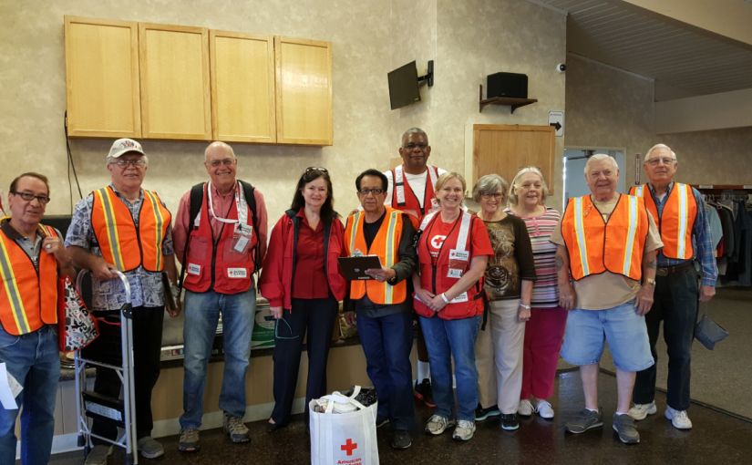 Seniors Take Charge in their Community Installing Smoke Alarms