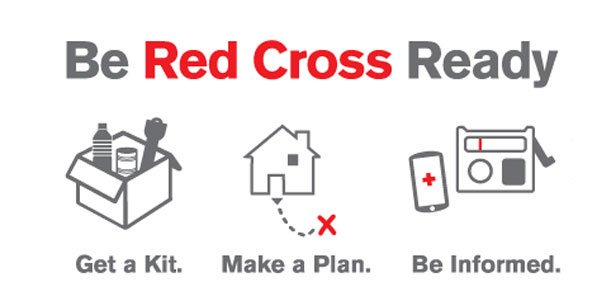 Time to Evacuate? Be Red Cross Ready