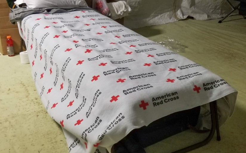 1,600 New Blankets Arriving Soon for Camp Fire Shelter Guests