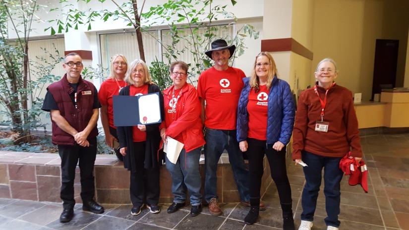Yuba County Recognizes volunteers as Part of Red CrossMonth