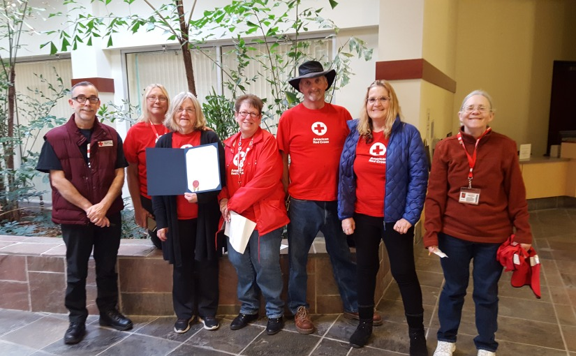 Yuba County Recognizes volunteers as Part of Red Cross Month