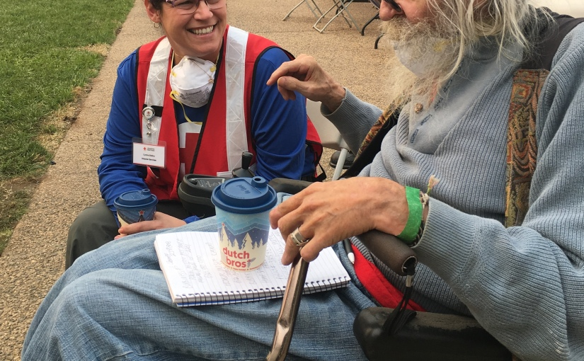 Reflections on Camp Fire's 2nd Anniversary: Volunteer Cynthia Bellina